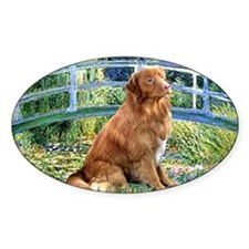 Bridge-Nova Scotia dog Decal