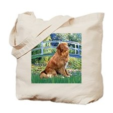 Bridge-Nova Scotia dog Tote Bag