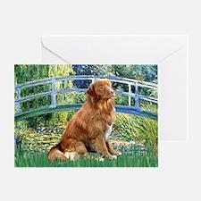Bridge-Nova Scotia dog Greeting Card
