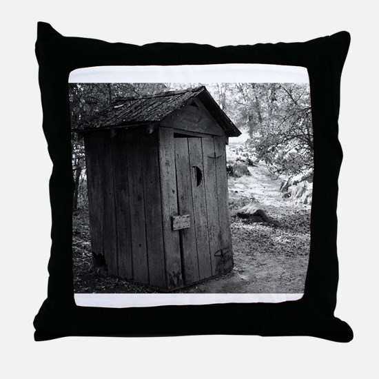 Old Way To Go Throw Pillow