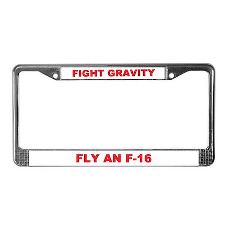 F-16 (FALCON) License Plate Frame
