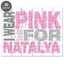 I-wear-pink-for-NATALYA Puzzle