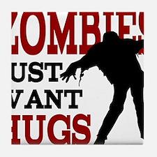 zombiehugs Tile Coaster