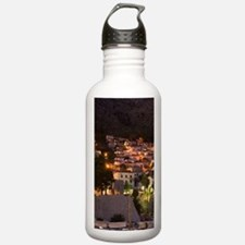 Walled City of Dubrovn Water Bottle