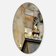 Edinburgh. Palace of Holyrood House Sticker (Oval)