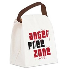 angerfree copy Canvas Lunch Bag