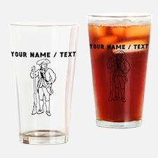 Custom Revolutionary War Soldier Drinking Glass