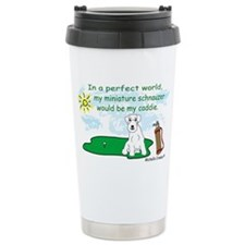 MiniSchnauzerWt Travel Mug