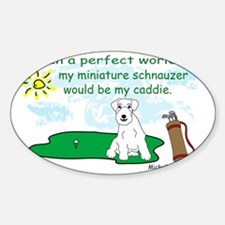 MiniSchnauzerWt Decal