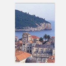 Dubrovnik. Red roofs of t Postcards (Package of 8)