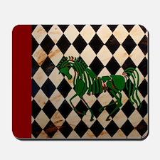 CelticHorseLongRed Mousepad
