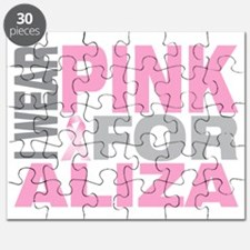 I-wear-pink-for-ALIZA Puzzle