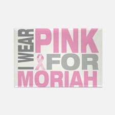I-wear-pink-for-MORIAH Rectangle Magnet