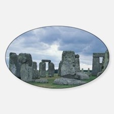 Europe, England, Wiltshire, Avebury Sticker (Oval)