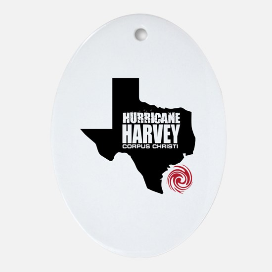 Funny Hurricanes Oval Ornament