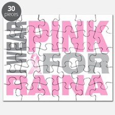 I-wear-pink-for-RAINA Puzzle