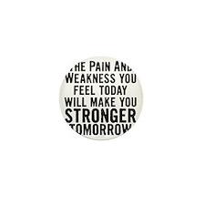 stronger-tomorrow Mini Button