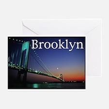 Verrazano Bridge, Bay Ridge,  Greeting Cards (Pack