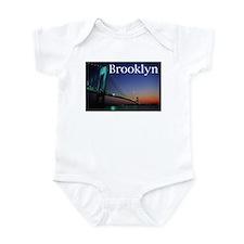 Verrazano Bridge, Bay Ridge,  Infant Bodysuit
