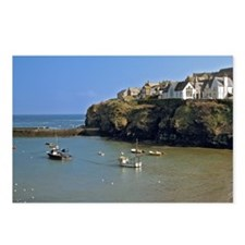 Isaac. Fishing boats sit  Postcards (Package of 8)