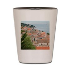 Dalmatian Coast Shot Glass