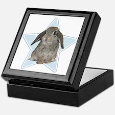 Baby bunny (blue) Keepsake Box