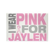 I-wear-pink-for-JAYLEN Rectangle Magnet