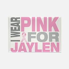 I-wear-pink-for-JAYLEN Rectangle Magnet