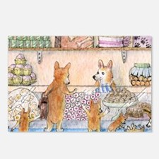 c cal 3 in the cake shop Postcards (Package of 8)
