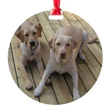 Otis and Buster Ornament