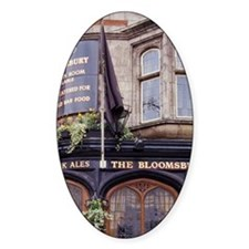 Bloomsbury. Bloomsbury pub on New O Decal