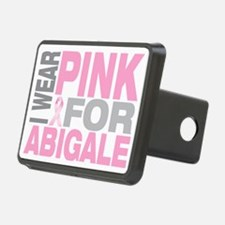 I-wear-pink-for-ABIGALE Hitch Cover