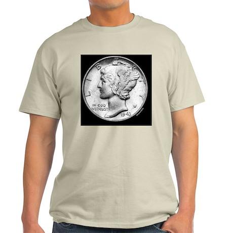 mercury_dime2 Light T-Shirt