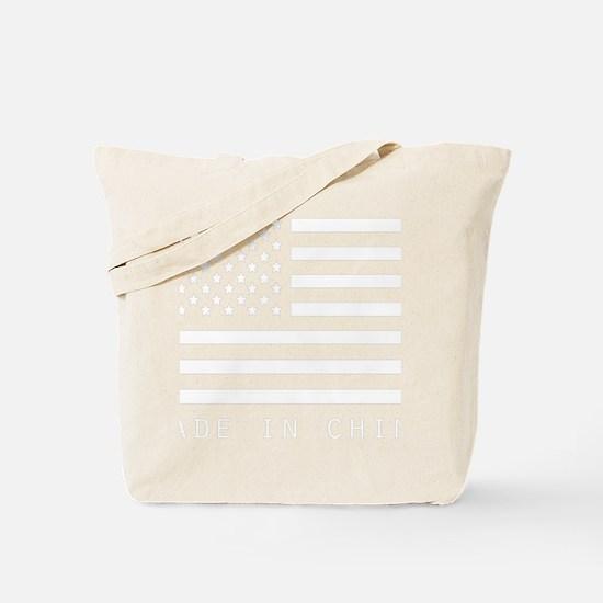 usa-made-in-china-flag Tote Bag