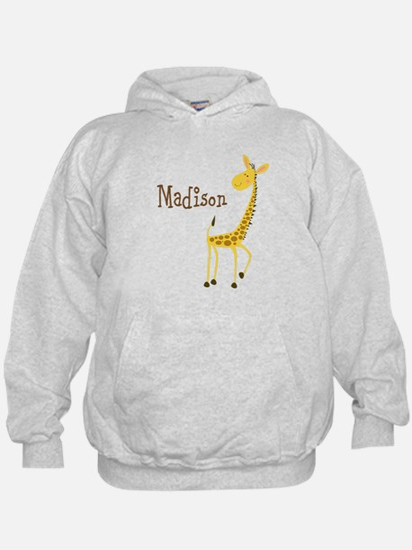 Personalized Giraffe Hoodie