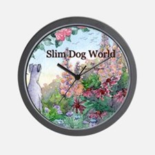 wh str lazy days cover Wall Clock