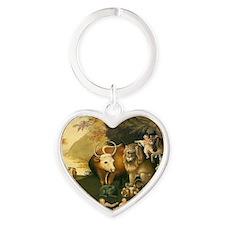 pzpeaceablekingd Heart Keychain