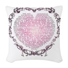 Heart v2 Woven Throw Pillow