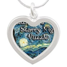 Jazmines Silver Heart Necklace