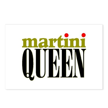 MARTINI QUEEN Postcards (Package of 8)