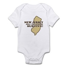 New Jersey Only the strong su Onesie