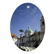 EUROPE, Slovenia, Ljubljana's St. Ni Oval Ornament