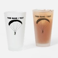 Custom Military Paratrooper Drinking Glass