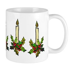 Candle Holly Mug
