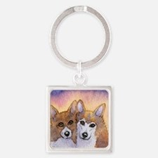 c cal 2 they were inseparable Square Keychain