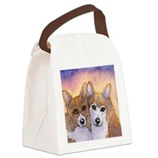c cal 2 they were inseparable Canvas Lunch Bag