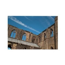 Tintern Abbey, River Wye Valley,  Rectangle Magnet