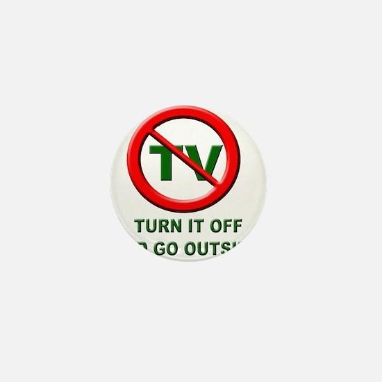 Turn Off The TV Mini Button