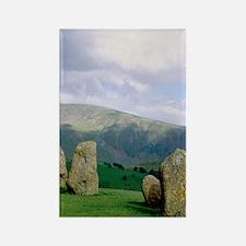 Keswick. Castlerigg stone circle  Rectangle Magnet