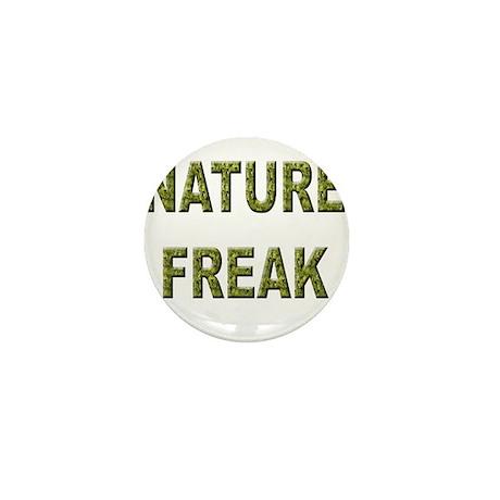 Nature Freak Mini Button (100 pack)
